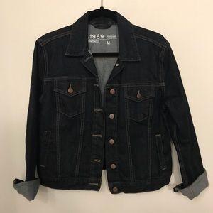 Gap 1969 dark denim jacket